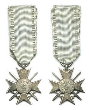 1880 Bulgaria Royal Bravery order soldier 2C3